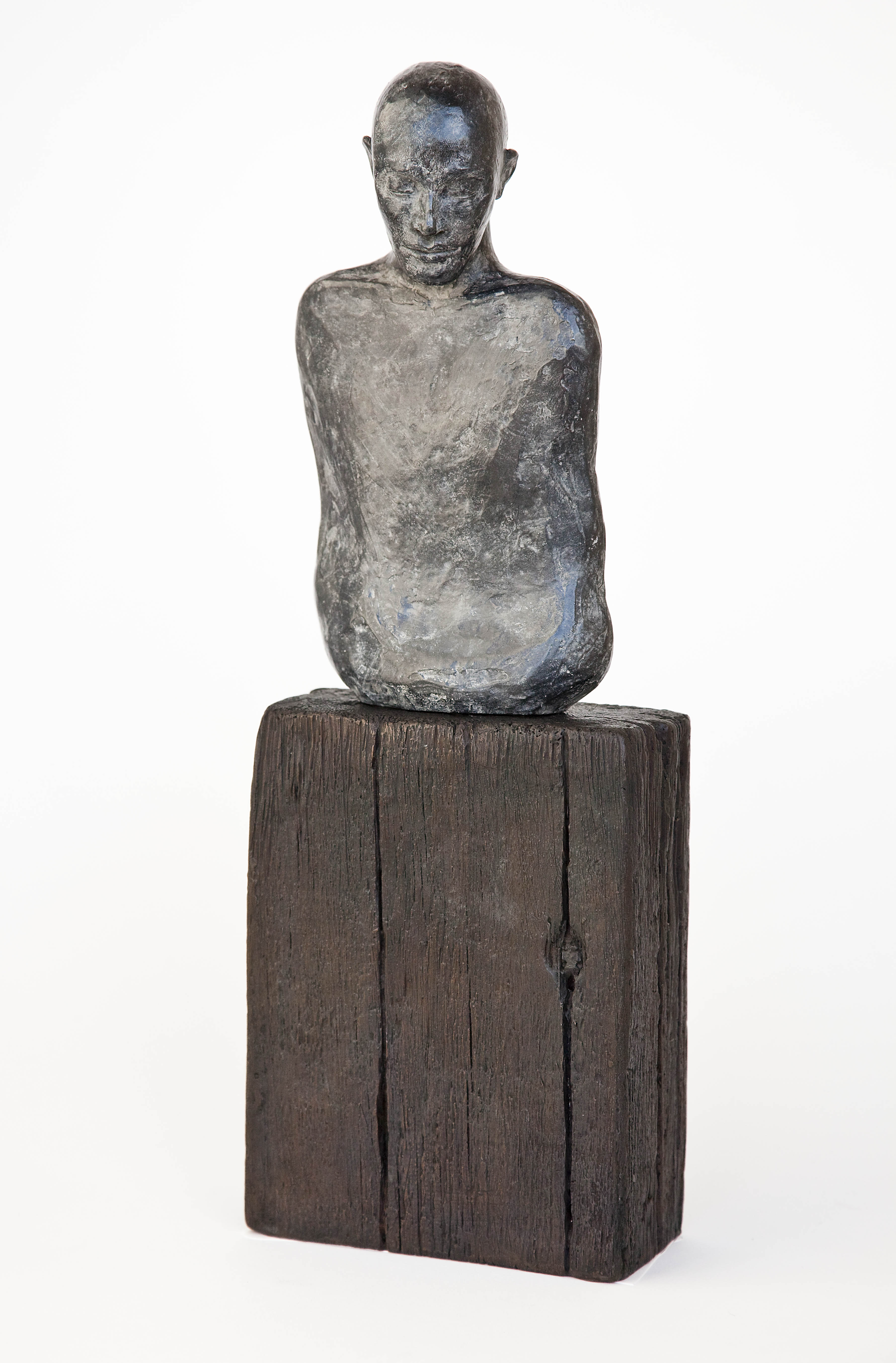 Tove Hirth - HEL -Skulptur i bronse - 45 cm
