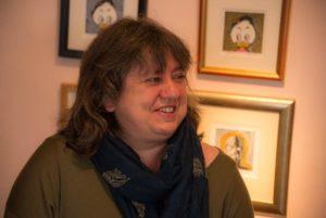 Besøk nr 10.000 var Anne Strømme fra Hurum - førstegangsbesøkende i Holmsbustuene!