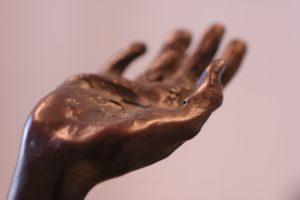 Detalj av Kirsten Kokkins skulptur