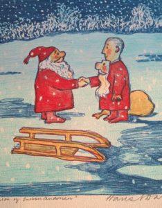 Julenissen og Snekker Andersen - i ny drakt!